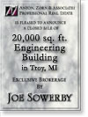 Troy MI, 20,000 SF engineering
